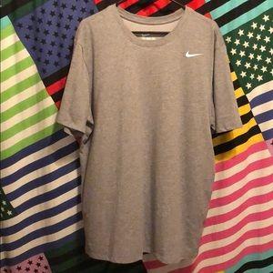 Grey Nike Dri-Fit T-Shirt!